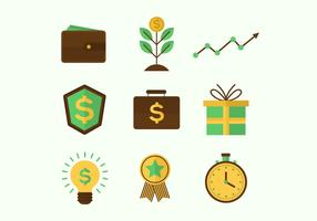 Business Benefits Vector Icons