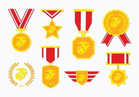 Vector Army us badges