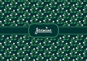 Jasmine Disty Pattern Gratis Vector