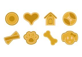 Free Dog Biscuit and Snack Vector