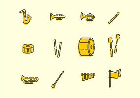 Marching Band Tools vector