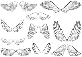 Angel Wings Vectors