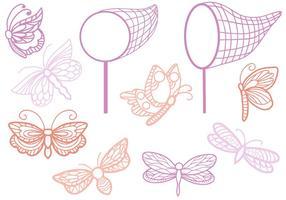 Gratis fjärilar vektorer