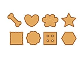 Dog Biscuit Icons