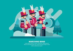 Marcherande band illustration