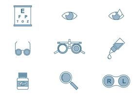 Optometrie Pictogrammen