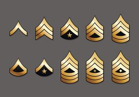 US Marine Corps Badges vector