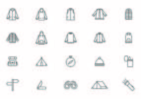 Outdoor Recreation Equipment Vectors