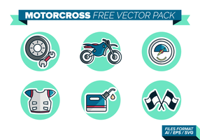 MotorCross Gratis Vector Pack