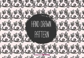 Floral Hand Drawn Vector Pattern