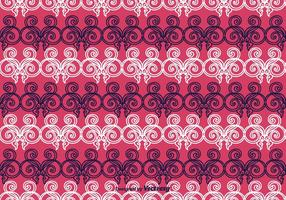 Ornament Purple Vector Background