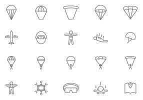 Gratis Skydiving Vectors
