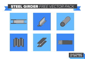 Stalen Drager Gratis Vector Pack