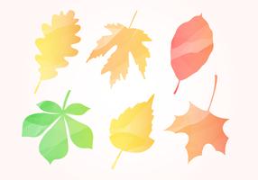 Free Aquarell Herbst Blätter