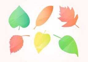 Feuilles d'automne gratuites d'aquarelle