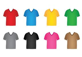V-neck-shirt-vector