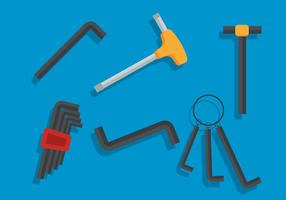 Allen key vector set