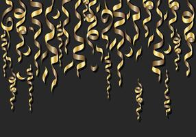 Gold Serpentine Background vector