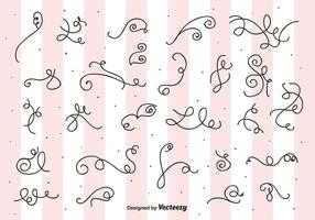 Curls and Swirls Vector