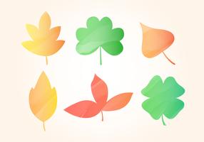 Hojas de otoño libre de la acuarela