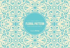 Vintage Floral Pattern Background vector