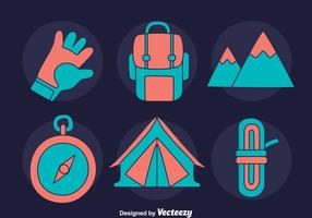 Nice Alpinist Element Vector