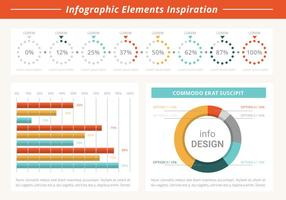Gratis Flat Infographic Vector Elements