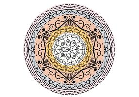 Islamic Ornament Mandala Free Vector