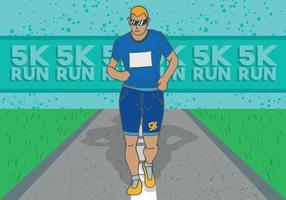 Affiche de course 5k