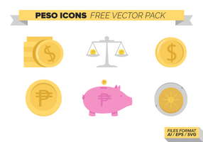 Peso Icons kostenloser Vector Pack