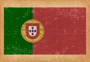 Bandiera del grunge del Portogallo