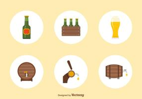Flat-beer-vector-icons