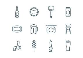 Beer & Bar Icons