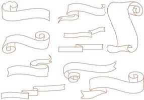 Free Vintage Scrolls Vectors