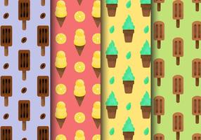 Gratis Grainy Ice Cream Patterns