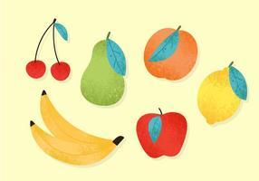 Gratis söta fruktvektorer