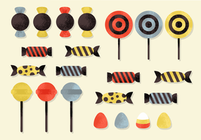 Free Halloween Candy Vector