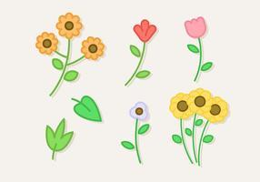 Free Flat Plants Vector