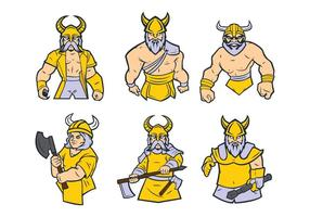 Free Viking Mascot Vector 01