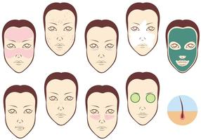 Gratis dermatologiska vektorer