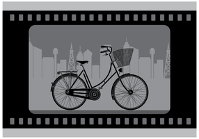 Gratis Silent Bicycle Film Vector