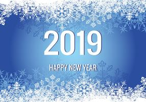 New Year 2019 Illustration vector