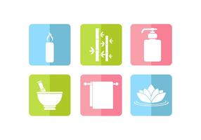 Dermatology Icon Set Free Vector