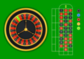 Muestra Vector De Tabla De Ruleta