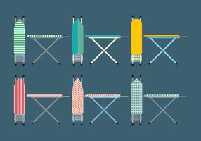 Ironing Board Icons Set