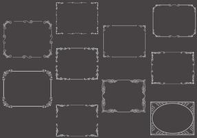 Free Silent Film Frames Vectors