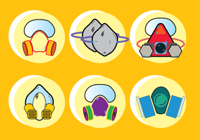 Respirator Chemical Gas Mask Icon For Any Purpose vector