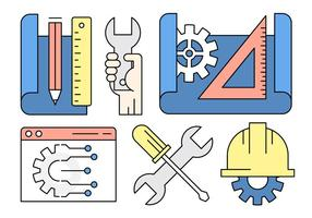 Gratis Engineering Vector Collectie