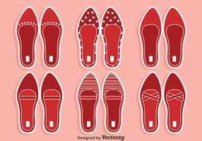 Red Ruby Slippers Vectors