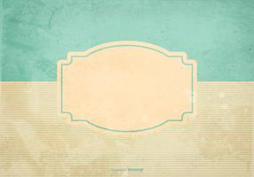 Blank Retro Grunge Style Background